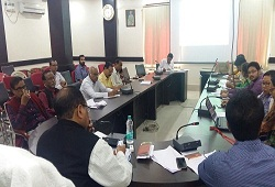 Review meeting conducted on Office Verification and FAB 1 on 4th March 2017 by DRCR Barpeta