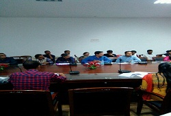Review meeting conducted on 1st March 2017 by DC Kamrup on overall progress of the verification process