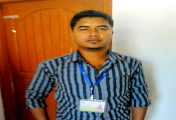 On 6th Nov, 2015 Operator Shri Dibya Jyoti Das of Amtola NSK, Raha Circle, Nagaon alone entered 100 forms (500 member records) in DOCSMEN software.