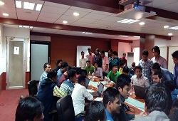 Training on Office Verification Management System conducted recently at the SCNR Office , Guwahati.