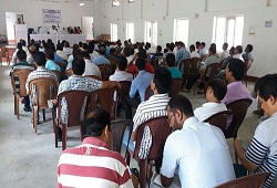 A review meeting held by NRC Team Kokrajhar to take stock of the overall progress of NRC updation works in the district - June 2016.