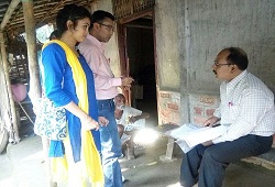 Verification Team of NSK 5 under Bongaigaon Revenue Circle carried out Field Verification on 20th Nov, 2015.
