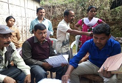 Field Verification of households under NSK 2 Chandrapur Circle of Kamrup Metro - Dec 21st, 2015.