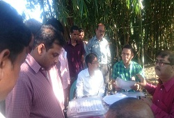 Field Verification of households under NSK-5 (Mayong-ii) Chandrapur Circle of Kamrup Metro - Dec, 2015.