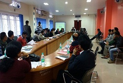 Training held on matters related to ongoing Verification Process of Goalpara district - 29th Dec, 2015.