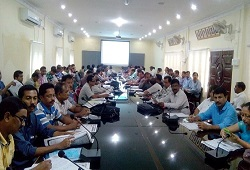 LRCRs and Local Officers attends a capacity building session of Application Form Fill Up and Receipt at Sukafa Hall, DC office in Sivasagar on 13th June, 2015.