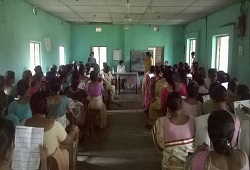 A demonstration session on Filling-up of Application Form conducted at Jalah Village in Kamrup Rural on 16th June, 2015.
