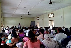 Training on Distribution of Application Form, Fill up and Receipt  organised at Kopili Development Block, Mikirbheta Circle in Morigaon district conducted on 22nd May, 2015.