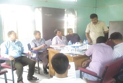 Capacity building training at Matipung Circle attended by LRCRs and FLOs among other people in Karbi Anglong conducted on 11th June, 2015.