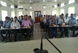 A still from the CSC members training session on e-Form facility  held in Dibrugarh.
