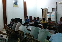 A training session on e-Form facility in Golaghat DC Conference Hall.