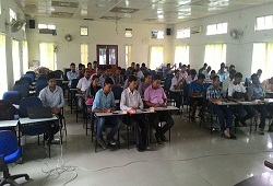 CSC members attend a training session on e-Form facility in Dibrugarh.