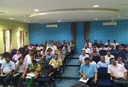 CSC members seen attending a training session on e-Form facility in Jorhat.