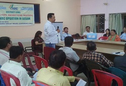Public Awareness Meeting held at Diphu Circuit House on NRC Updation