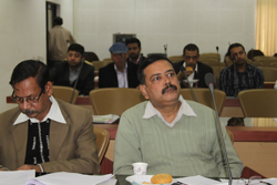 Political parties attend a meeting held by State Coordinator, NRC on NRC Updation Process