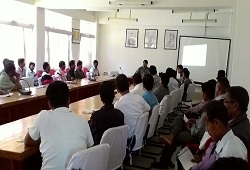 2nd phase training on NRC Updation organised for CRCRs and DRCRs at Dima Hasao recently.