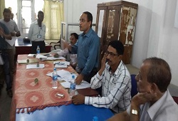 FLOs, LOs and LRCR officers undergo extensive training on Distribution and Receipt of Application Form held at Netaji Bidya Niketan, Lanka Revenue Circle in Nagaon on 4th June, 2015.