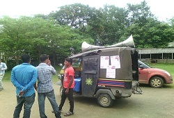 Special Mobilisation Drive on importance of Legacy Data and Filling-up of Application Form conducted under Lakhipur Circle in Goalpara on 12th June, 2015.