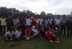 On the occasion of Independence Day, a friendly football match was played by Team NRC and Wipro staff, rejoicing the spirit of freedom and friendship in Barpeta district.