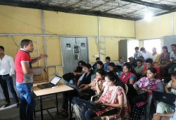 Training on Verification Process conducted recently in Nalbari District - September 2015.